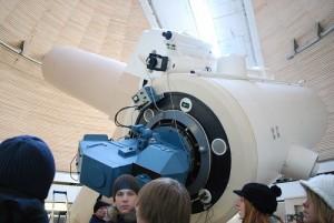 Serious Sander teleskoobiga
